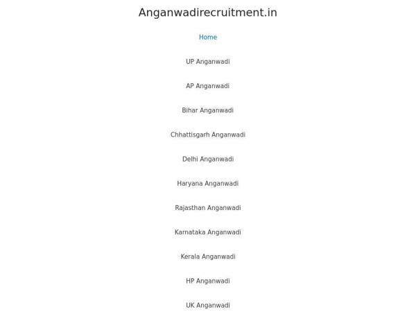 anganwadirecruitment.in