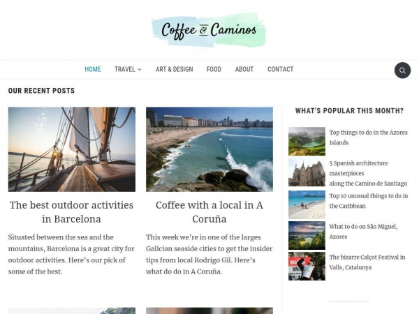 coffeeandcaminos.com