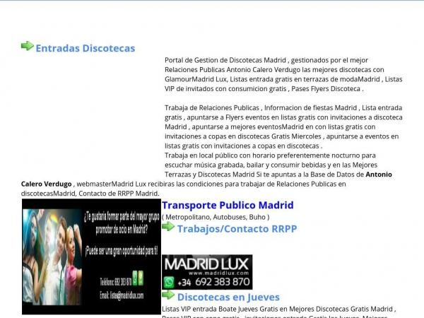 discotecas-madrid.viajerosdelmundo.net
