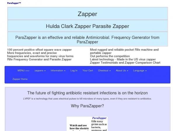 huldaclarkparazapper.com