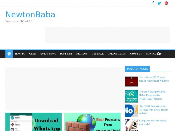 newtonbaba.com