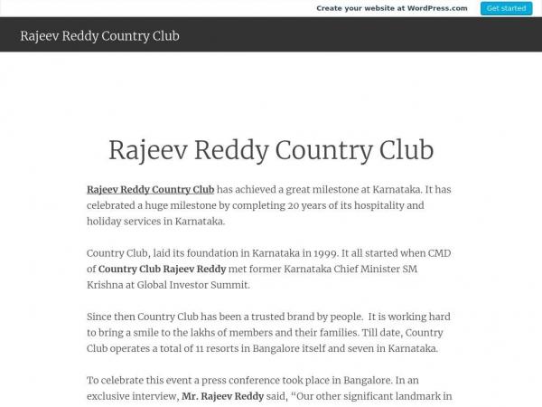 rajeevreddycountryclub.wordpress.com
