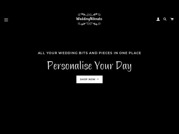 weddingniknaks.co.uk
